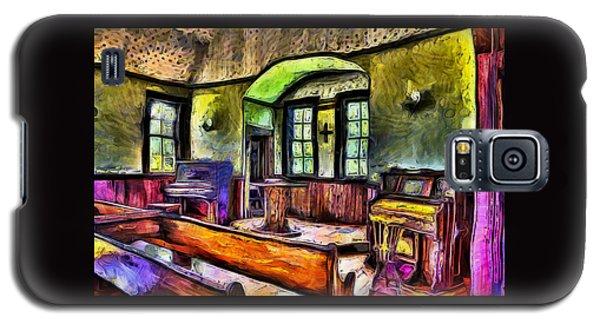Oysterville Church Interior Galaxy S5 Case