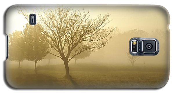 Ozarks Misty Golden Morning Sunrise Galaxy S5 Case by Jennifer White