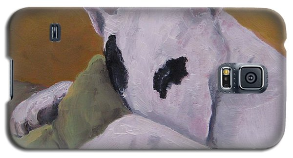 Galaxy S5 Case featuring the painting Ozzi by Jindra Noewi