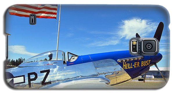 P-51 Hell - Er - Bust Galaxy S5 Case by Larry Keahey