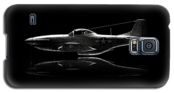 P-51 Mustang Profile Galaxy S5 Case by David Collins