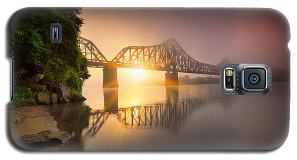 P And Le Ohio River Railroad Bridge Galaxy S5 Case