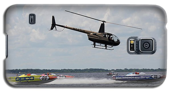 Galaxy S5 Case featuring the photograph P1 Powerboats by David Grant