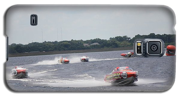 Galaxy S5 Case featuring the photograph P1 Powerboats Orlando 2016 by David Grant
