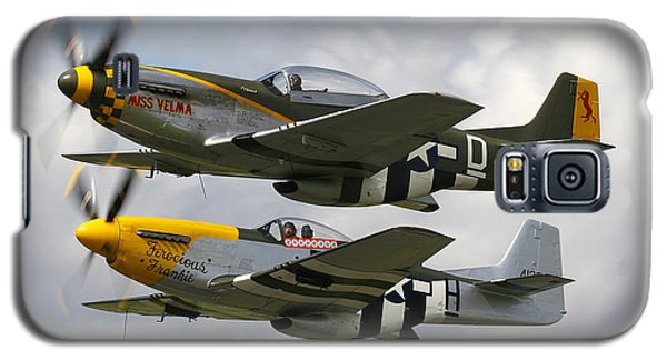 P51 Mustangs Galaxy S5 Case by Ken Brannen
