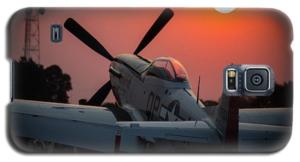 P51 Sunset Galaxy S5 Case