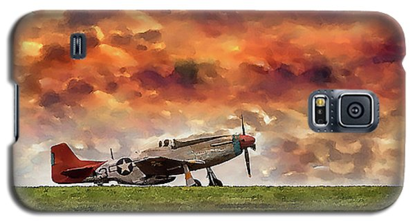 P51 Warbird Galaxy S5 Case