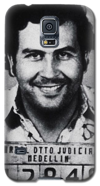 Pablo Escobar Mug Shot 1991 Vertical Galaxy S5 Case
