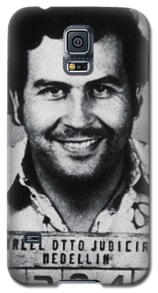 Pablo Escobar Mug Shot 1991 Vertical Galaxy S5 Case by Tony Rubino