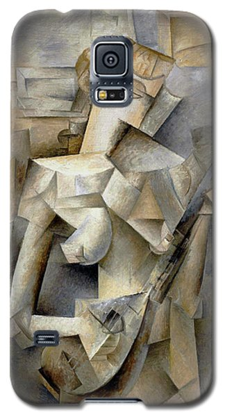Pablo Picasso Girl With A Mandolin 1910 Galaxy S5 Case
