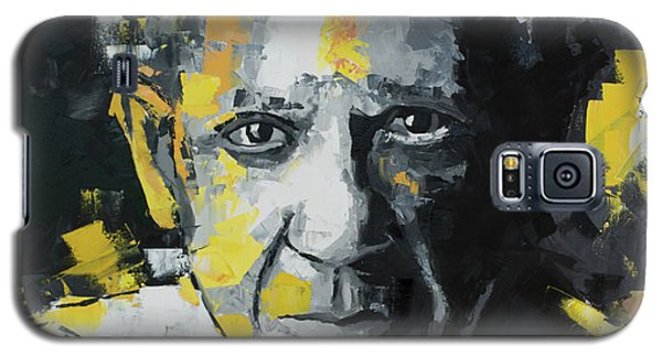 Galaxy S5 Case featuring the painting Pablo Picasso Portrait by Richard Day