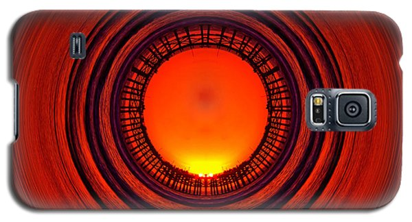 Pacific Beach Pier Sunset - Abstract Galaxy S5 Case