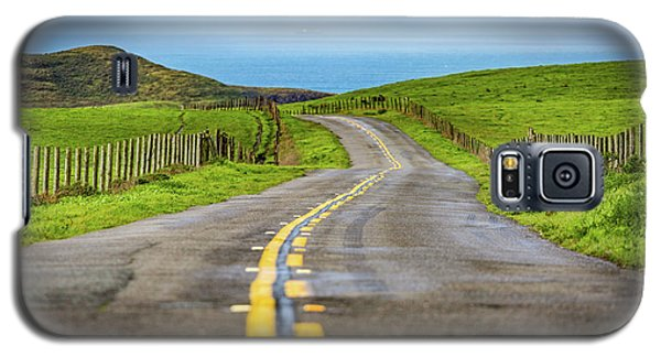 Pacific Coast Road To Tomales Bay Galaxy S5 Case