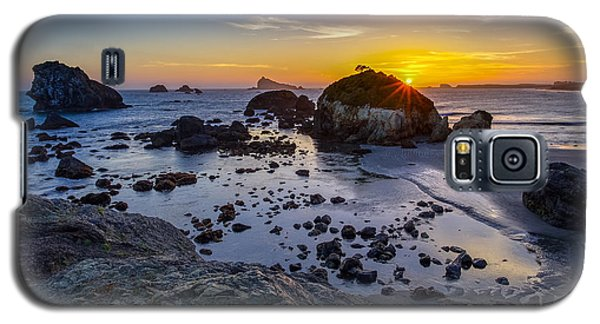 Pacific Ocean Northern California Sunset Galaxy S5 Case by Scott McGuire