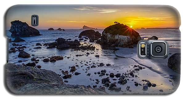 Pacific Ocean Northern California Sunset Galaxy S5 Case
