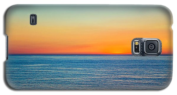 Pacific Ocean Sunset Galaxy S5 Case by April Reppucci