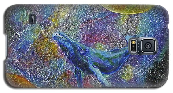 Pacific Whale In Space Galaxy S5 Case