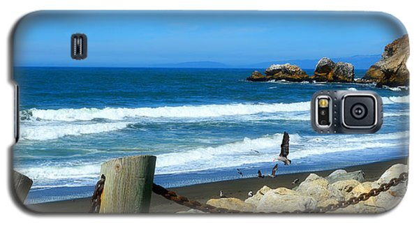 Galaxy S5 Case featuring the photograph Pacifica Coast by Glenn McCarthy Art and Photography