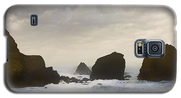 Pacifica Surf Galaxy S5 Case by John Hansen