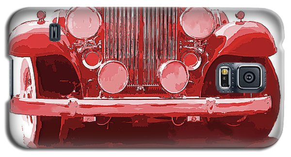 Packard Ask The Man Red Galaxy S5 Case