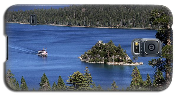 Paddle Boat Emerald Bay Lake Tahoe California Galaxy S5 Case