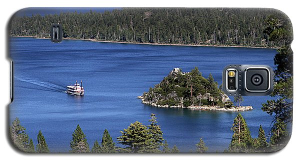 Paddle Boat Emerald Bay Lake Tahoe California Galaxy S5 Case