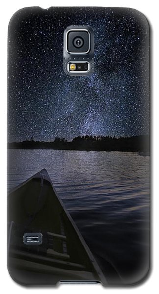 Paddling The Milky Way Galaxy S5 Case
