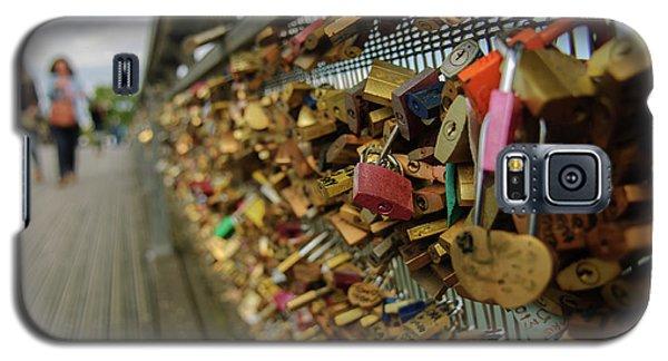 Padlock Bridge Galaxy S5 Case