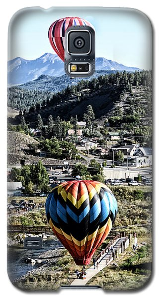 Galaxy S5 Case featuring the photograph Pagosa Springs Colorfest 2015 by Kevin Munro