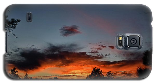 Pagosa Sunset 11-30-2014 Galaxy S5 Case