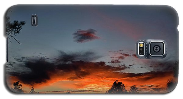 Pagosa Sunset 11-30-2014 Galaxy S5 Case