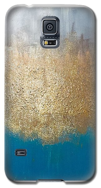 Paint The Sky Gold Galaxy S5 Case