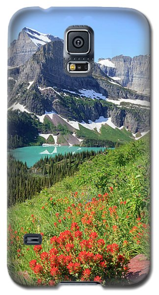 Paintbrush Above Grinnell Lake Galaxy S5 Case