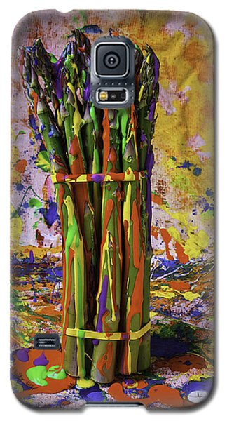 Painted Asparagus Galaxy S5 Case by Garry Gay