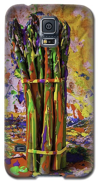 Painted Asparagus Galaxy S5 Case