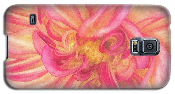 Painted Dahlia Galaxy S5 Case