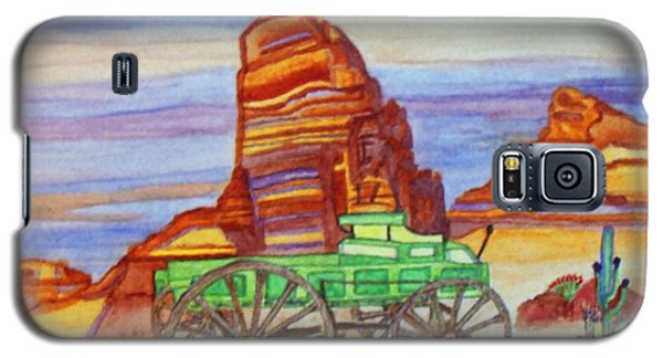 Painted Desert Galaxy S5 Case by Connie Valasco