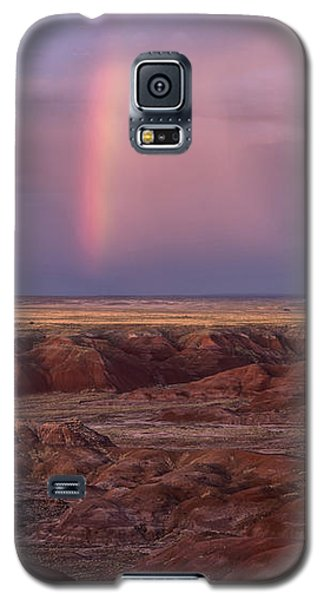 Galaxy S5 Case featuring the photograph Painted Desert Rainbow by Melany Sarafis