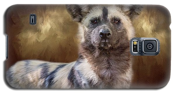Painted Dog Portrait II Galaxy S5 Case