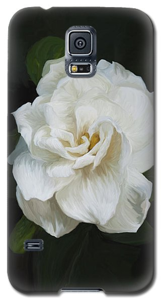 Galaxy S5 Case featuring the photograph Painted Gardenia by Phyllis Denton