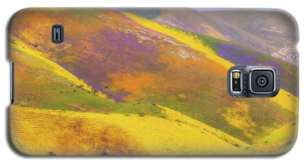 Galaxy S5 Case featuring the photograph Painted Hills by Marc Crumpler