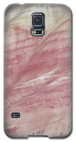 Galaxy S5 Case featuring the photograph Painted Hills Textures 1 by Leland D Howard