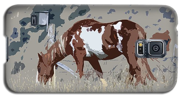 Painted Horse Galaxy S5 Case by Steve McKinzie
