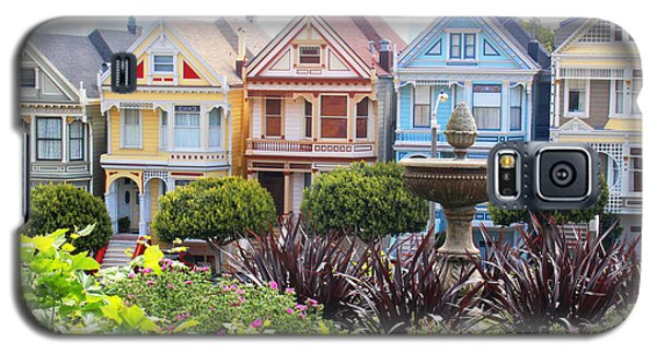 Painted Ladies San Francisco Galaxy S5 Case by Cheryl Del Toro