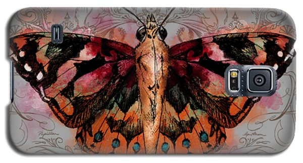Painted Lady II Galaxy S5 Case