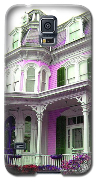 Galaxy S5 Case featuring the photograph Painted Lady -  Victorian Age  by Susan Carella