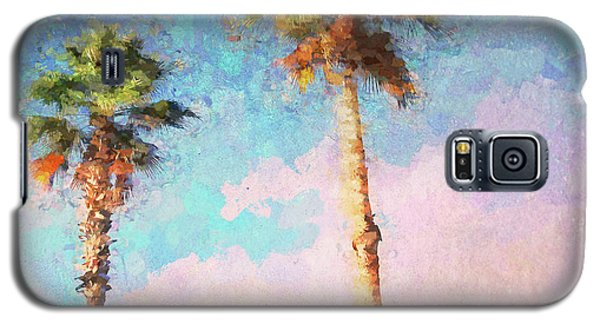 Painted Palms Galaxy S5 Case
