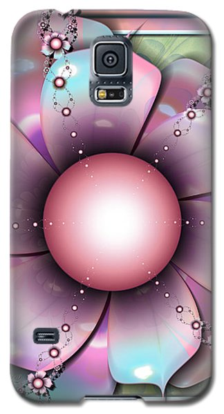 Painted Petals Galaxy S5 Case