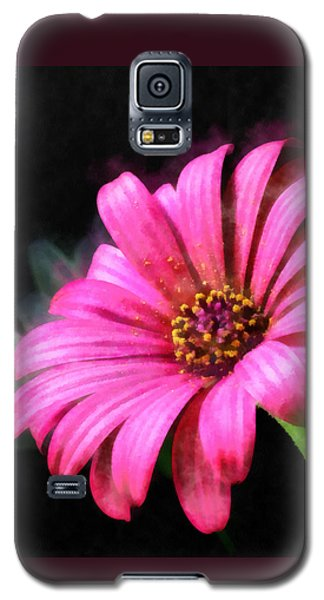 Painted Pink Galaxy S5 Case by Elizabeth Coats