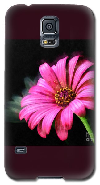 Galaxy S5 Case featuring the painting Painted Pink by Elizabeth Coats